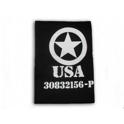 T-shirt USA noir