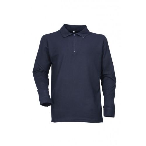 Chemise F1 coton bleu marine