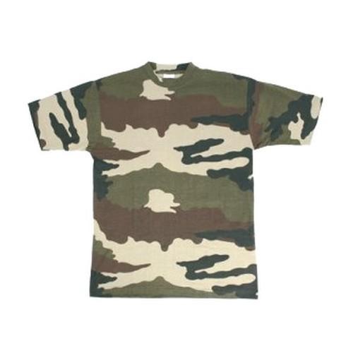 T-shirt original militaire camouflage centre europe