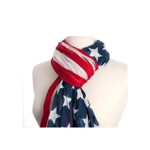 Chèche drapeau Américain