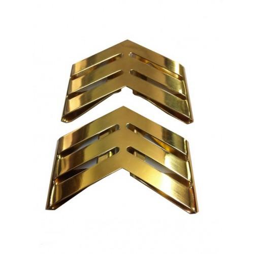 Insigne grade d'épaule métal - 8 -