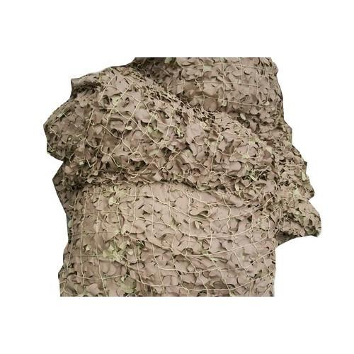 Filet de camouflage militaire Sable