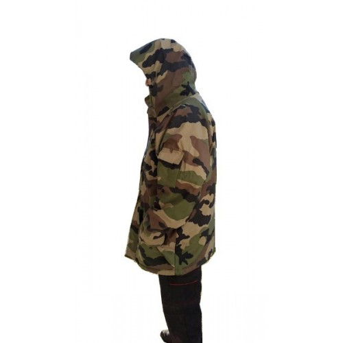 Parka Camouflage Centre Pertoock's