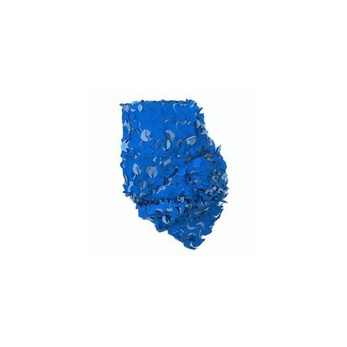 Filet de camouflage bleu 2.40 x 3m