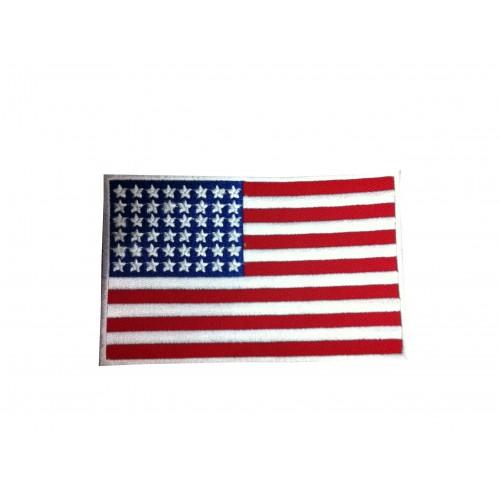 Ecusson drapeau Américain