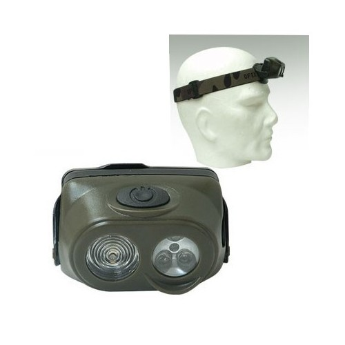 Lampe frontale 4 LED