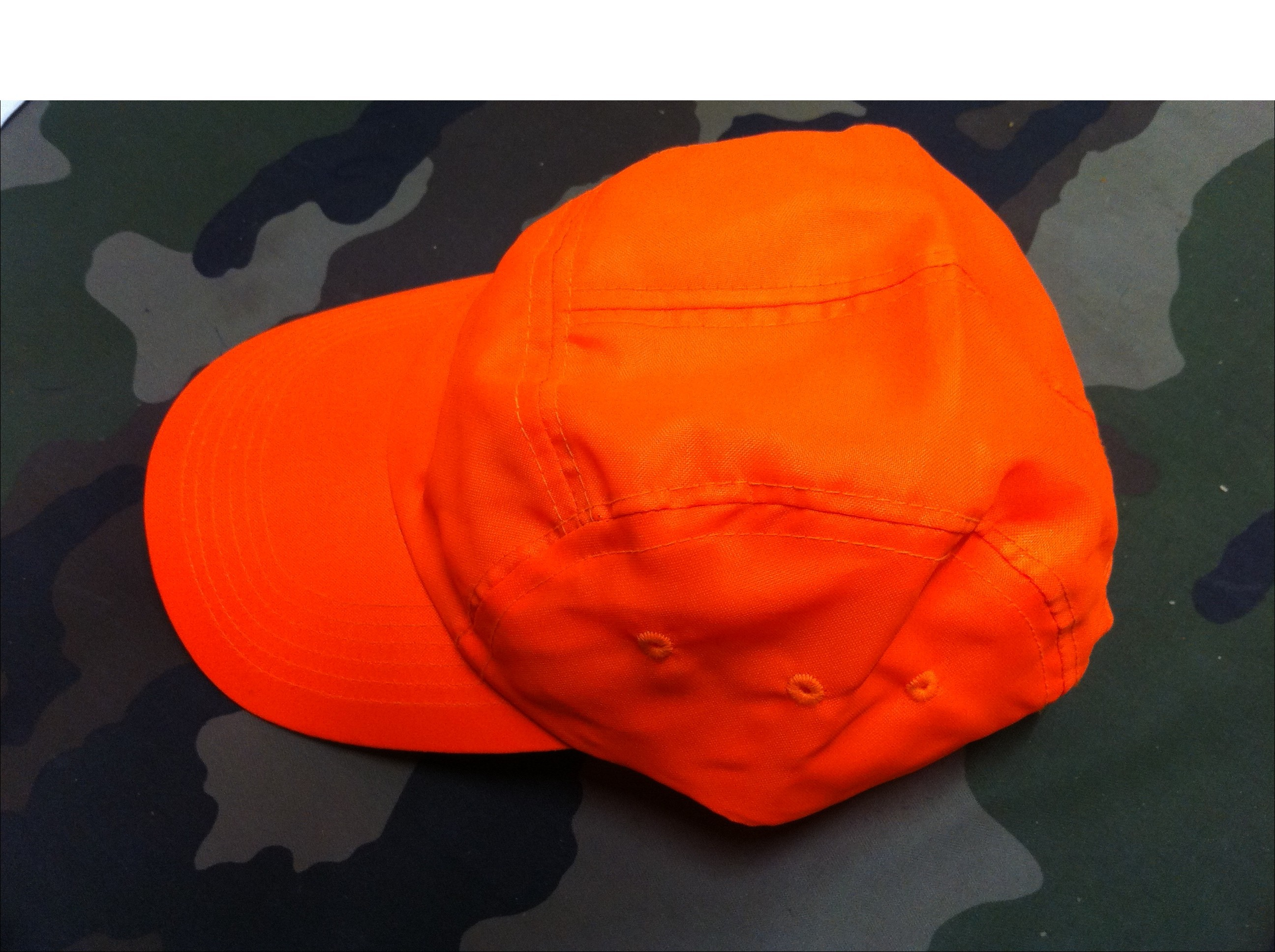 casquette sixpence fluo