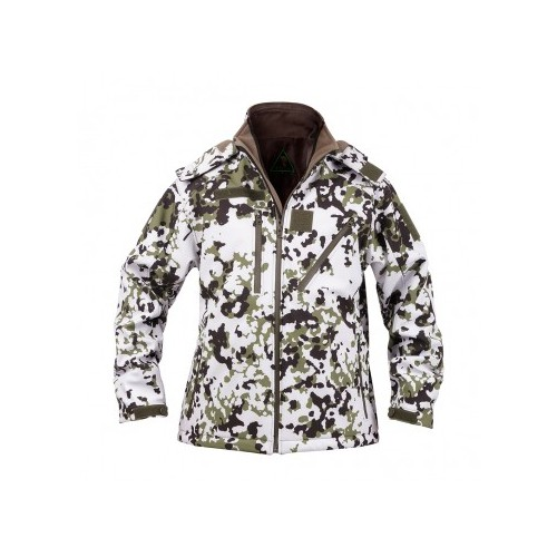 VESTE SOFTSHELL ELITE SNOWAY CAM NEIGE