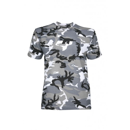 Tee shirt camouflage urbain gris