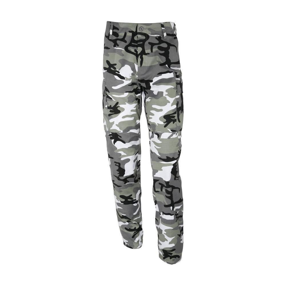 pantalon treillis militaire type us bdu camouflage urbain gris surplus le casque bleu. Black Bedroom Furniture Sets. Home Design Ideas