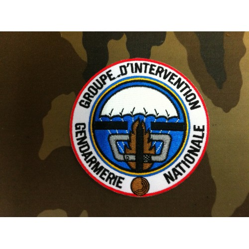 Ecusson Groupe d'intervention Gendarmerie Nationale