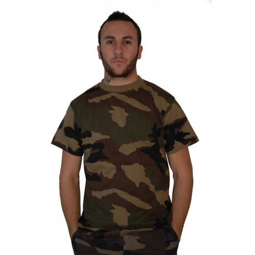 Tee shirt camouflage CE