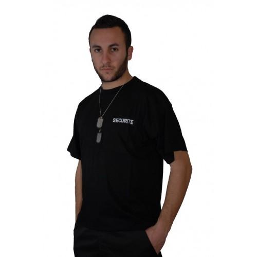 Tee shirt Sécurité noir