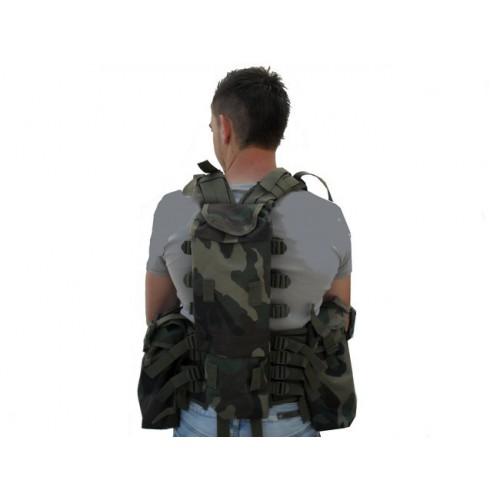 Gilet tactique camouflage