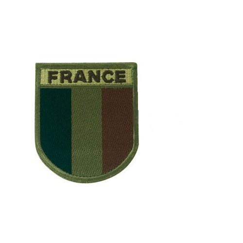 Ecusson brodé FRANCE basse visibilité