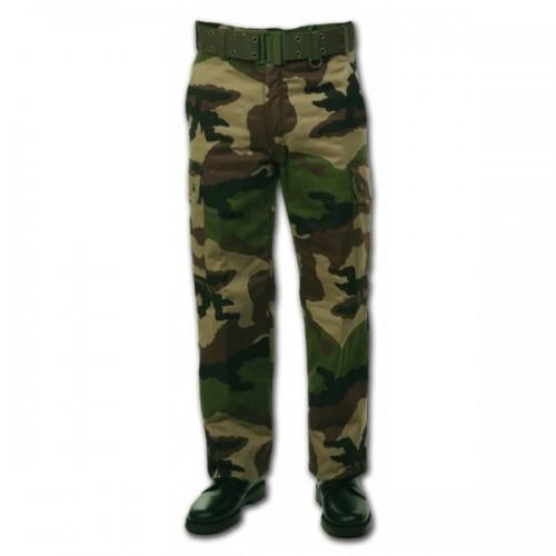 Pantalon treillis doublé polaire camouflage