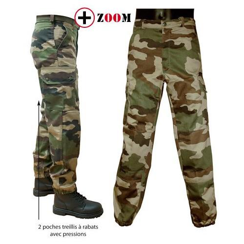 Treillis militaire F2 camouflage CE