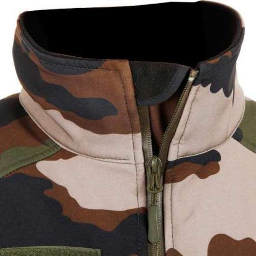 Veste Softshell camouflage centre europe
