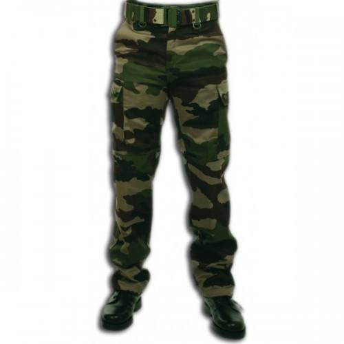 Pantalon treillis militaire F7 camouflage