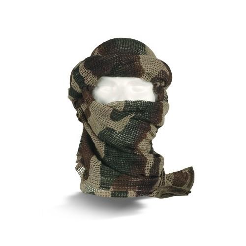 Echarpe filet camouflage
