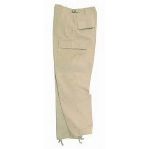 Pantalon treillis BDU beige