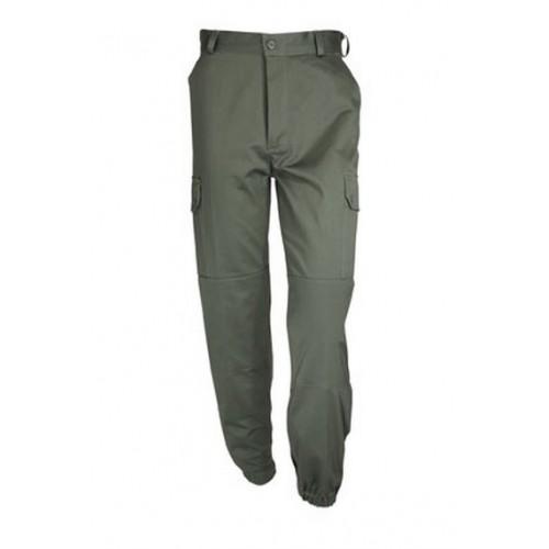 Pantalon treillis F1 militaire vert armée