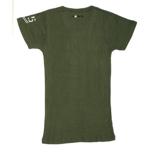T-shirt cotelé Korps