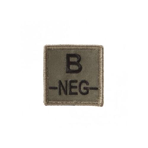Ecusson groupe sanguin velcro B-