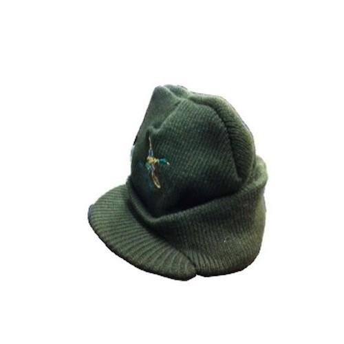 Bonnet casquette brodé canard