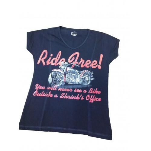 Tee-shirt biker's Femme