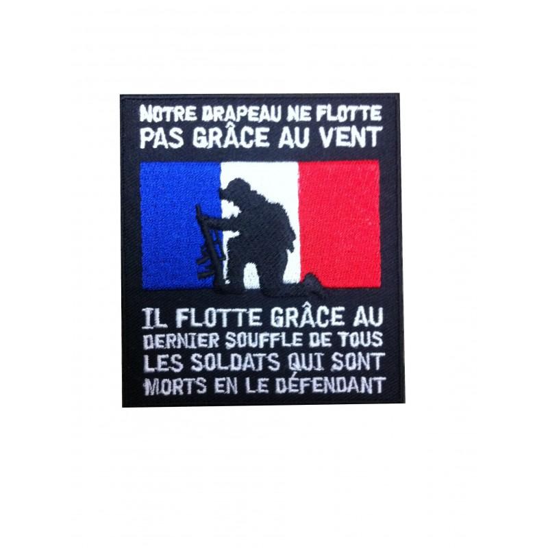 ECUSSON drapeau Francais