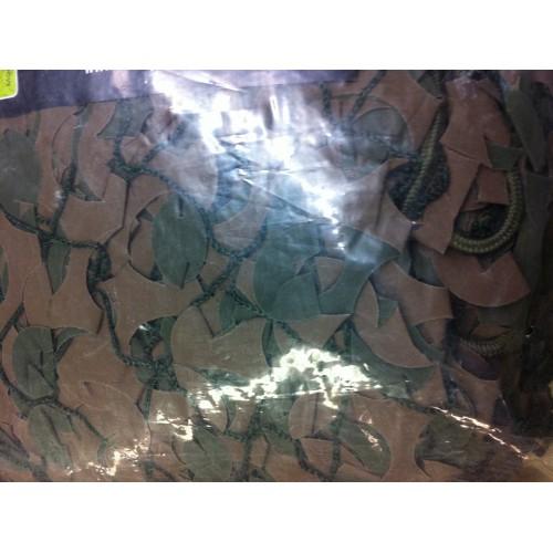 Filet de camouflage VERT/MARRON 3x 6 m