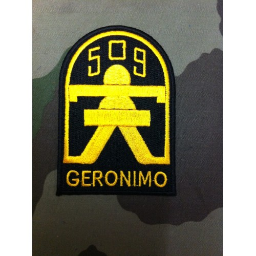 Ecusson 509 GERONIMO