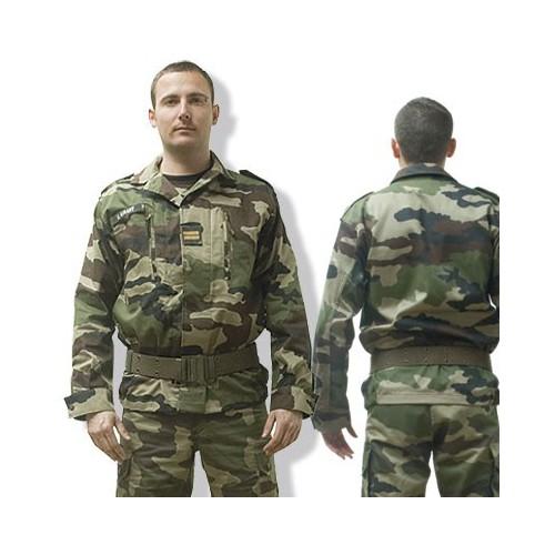 Veste de treillis militaire F2 camouflage