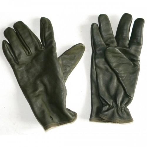 Gants de combat en cuir kaki Armée Française NEUF