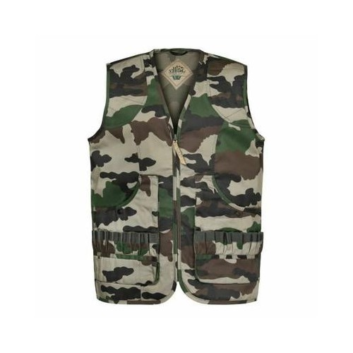 Gilet chasse Ouverture camo