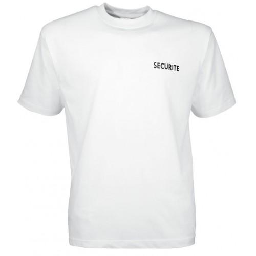 Tee shirt Sécurité blanc