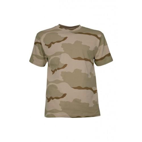 T-shirt camouflage desert
