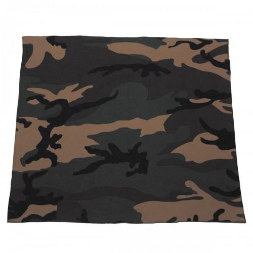 Bandana  avec impression camouflage