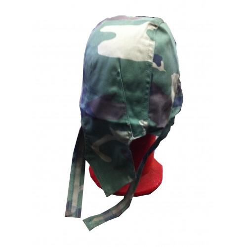 Casquette bandana camouflage