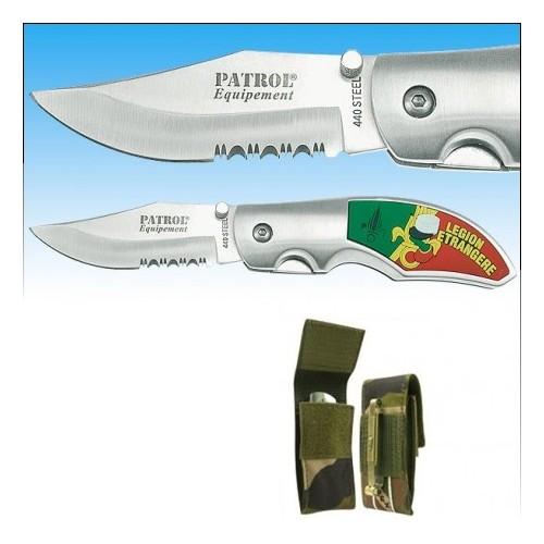 Couteau Rangers Légion avec étui CAM