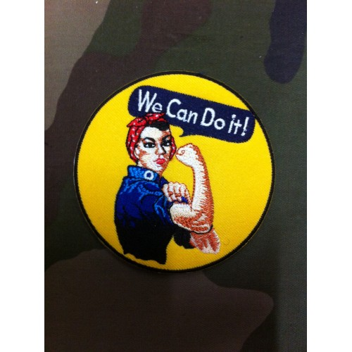 "Ecusson ""We Can Do it !"""