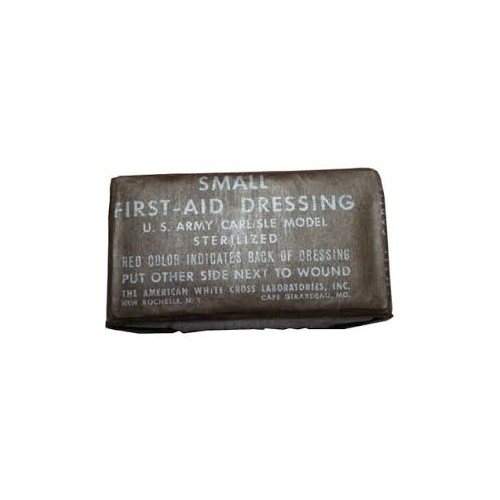 SMALL FIRST-AID DRESSING U.S. ARMY