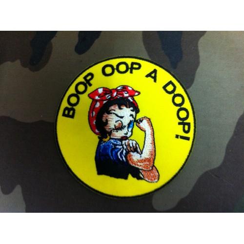 Ecusson BOOP OOP A DOOP!
