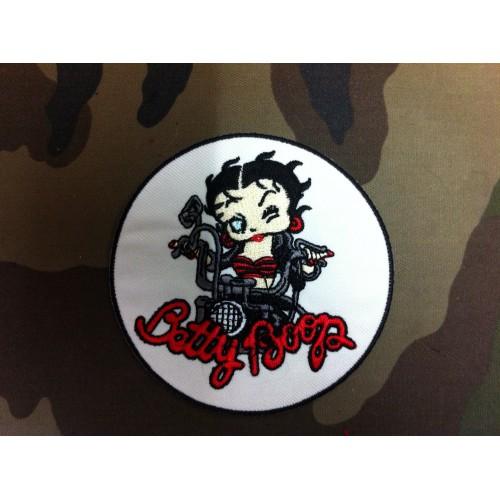 Ecusson Betty Boop biker