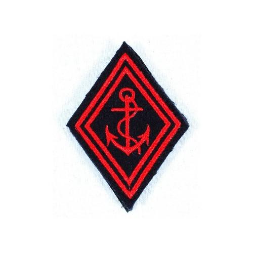 Ecusson losange  TDM rouge