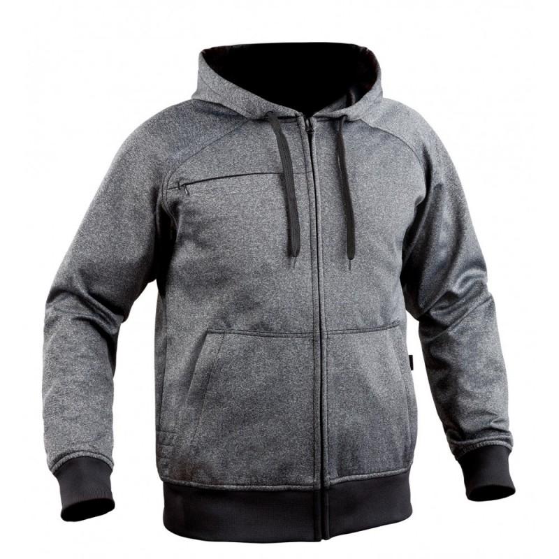 Sweat zippé Ghost gris