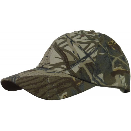 Casquette camouflage feuillage