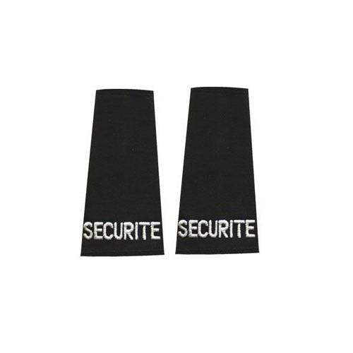 """Fourreaux d'épaulette """"SECURITE"""""""