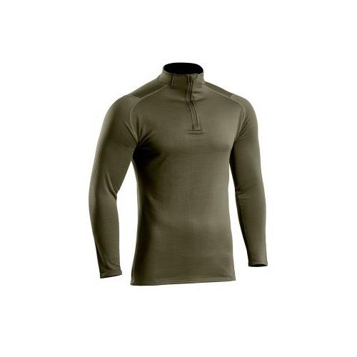 Sweat zippé Thermo Performer niveau 3 vert OD ou NOIR